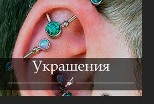 Сборное украшение в уши