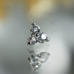 Auris Jewellery - Threeleaf с бриллиантами